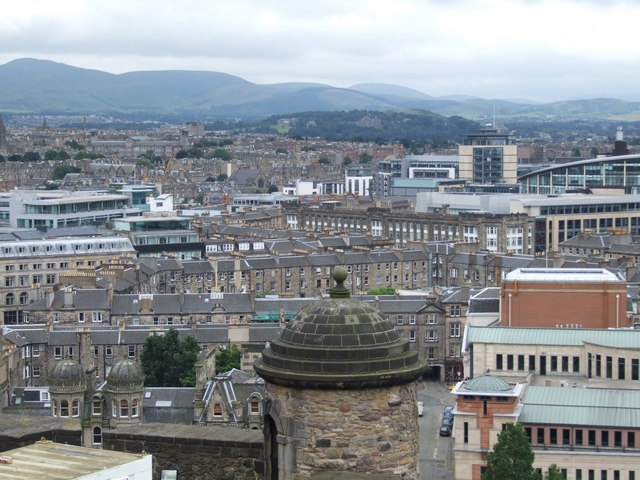 Panorama from the Castle, Edinburgh - 1 of 5 #3