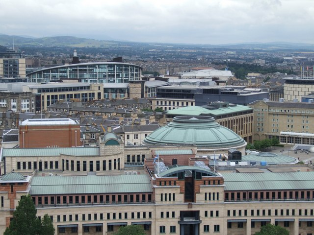 Panorama from the Castle, Edinburgh - 2 of 5 #3