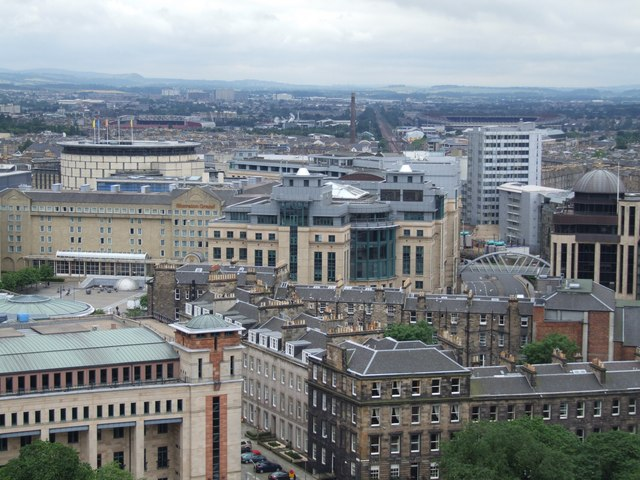 Panorama from the Castle, Edinburgh - 3 of 5 #3