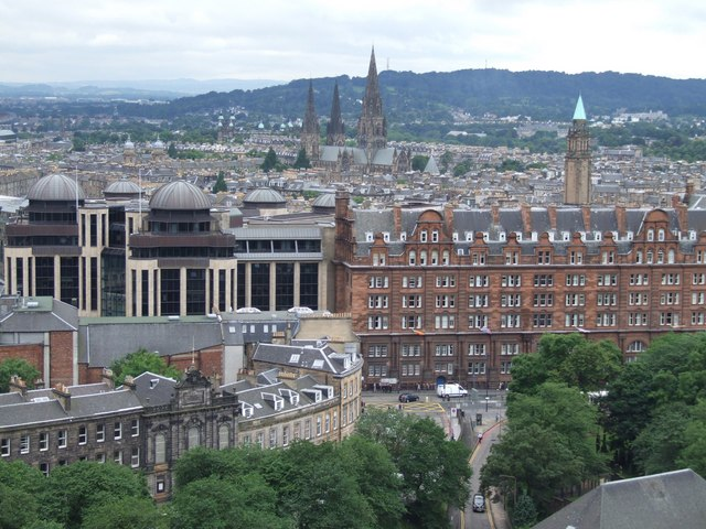 Panorama from the Castle, Edinburgh - 4 of 5 #3