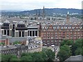 NT2573 : Panorama from the Castle, Edinburgh - 4 of 5 #3 by Dave Hitchborne