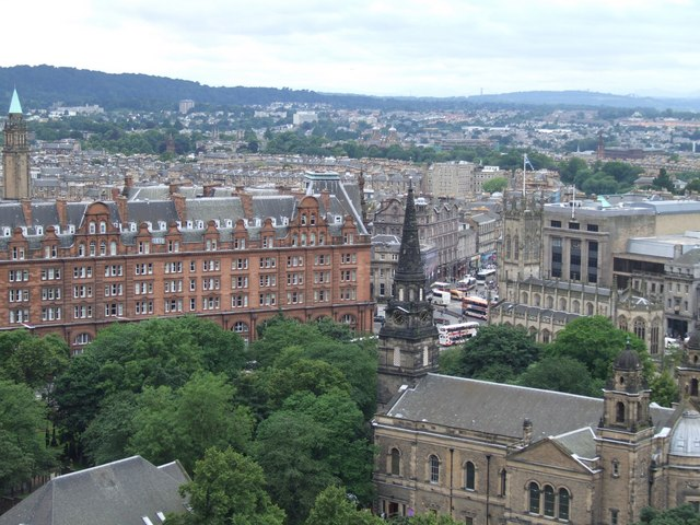 Panorama from the Castle, Edinburgh - 5 of 5 #3