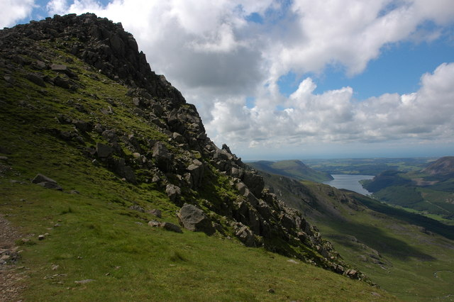Black Crag viewed from Wind Gap