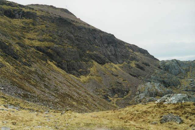 Path alongside Ruadh Stac Mor
