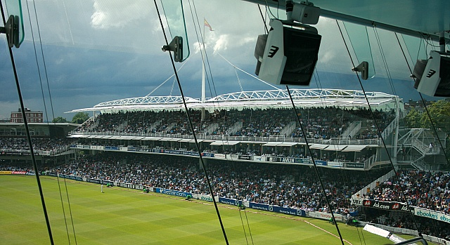 The Grand Stand from the Media Centre, Lord's Cricket Ground