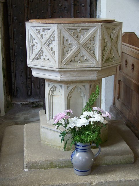 St John the Baptist Church - Font