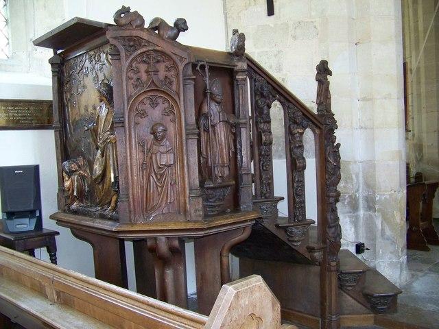 St John the Baptist Church - Pulpit