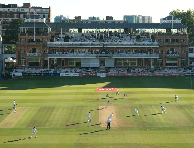 Evening light at Lord's Cricket Ground