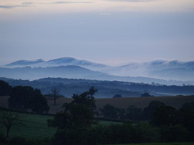 Aston Crews and Malvern Hills