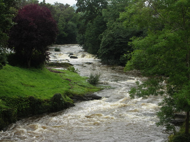 The River Rhiw