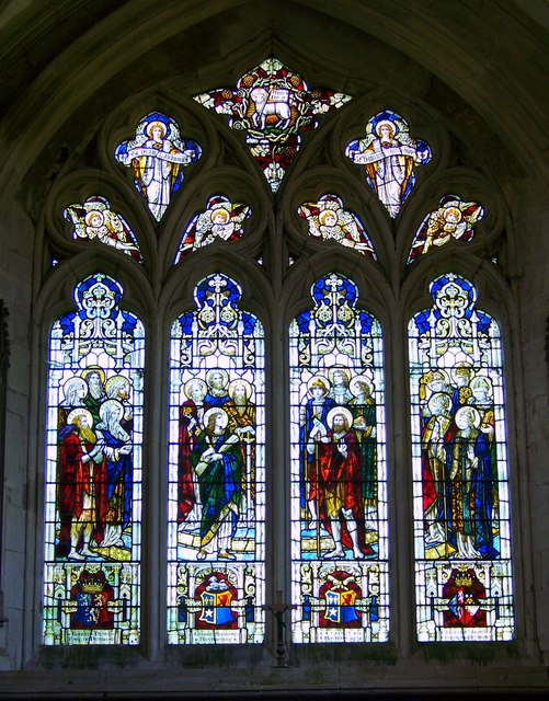 St John the Baptist Church - Stained Glass Window