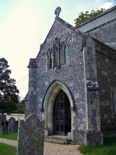 St John the Baptist Church - Porch