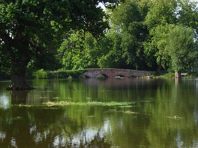 Bridge, Swallowfield Park