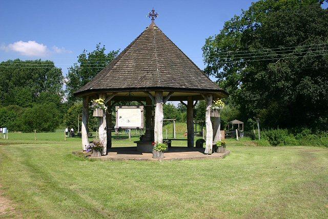 East Lexham village green