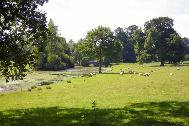 Grounds of East Lexham Hall