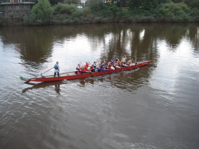 Dragon boat at Worcester
