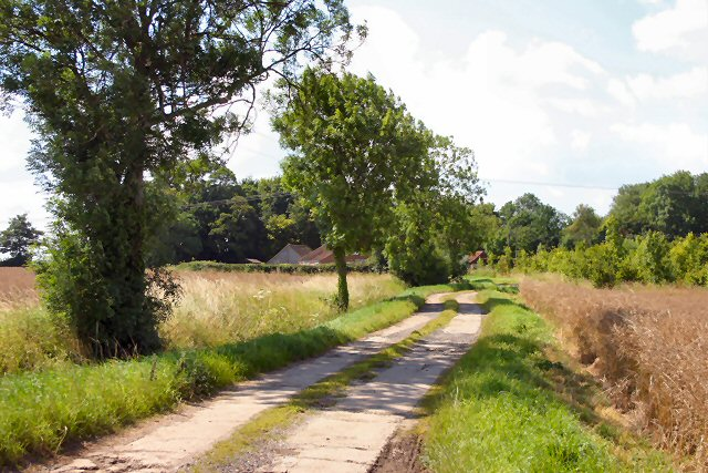 Track to Kempstone Cottages