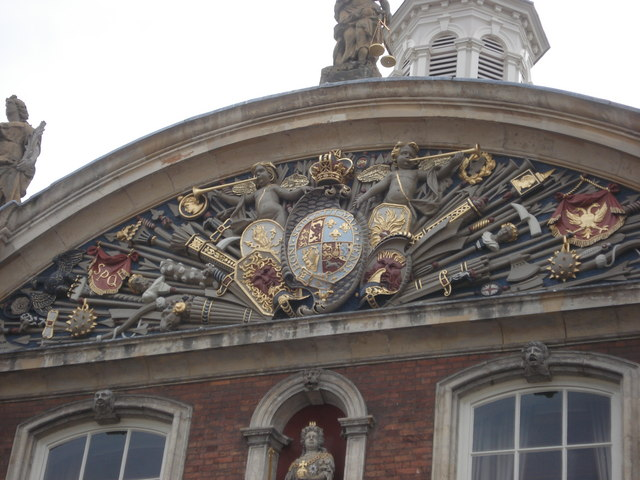 Worcester Guildhall detail