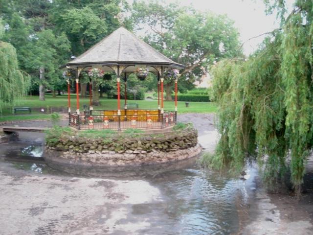 Gheluvelt Park bandstand