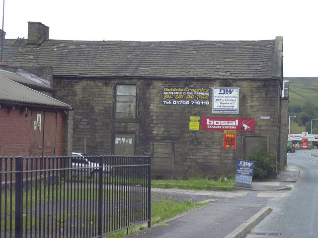 Disused Mill Building, Market Street.
