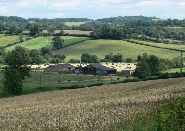 Farmland north of Noseley