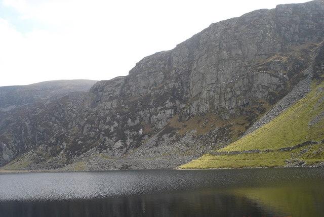 Cliffs on Diffwys