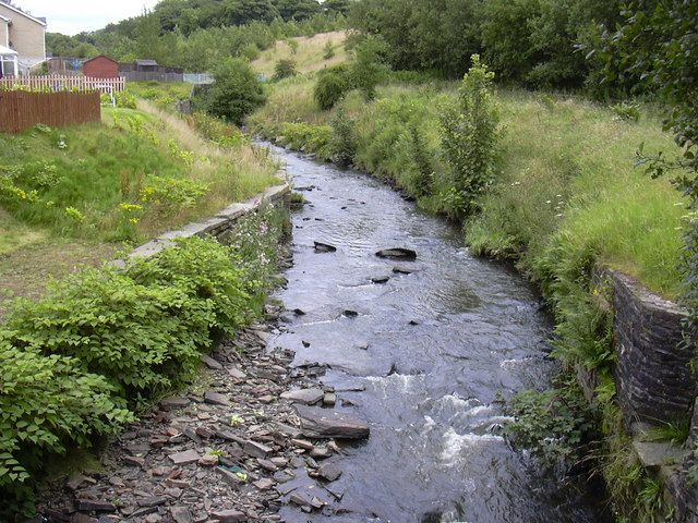 River Irwell at Stacksteads