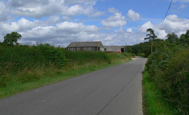 Palmers Lane near Goadby, Leicestershire