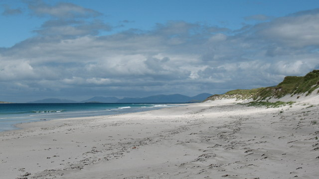 Berneray west side beach.