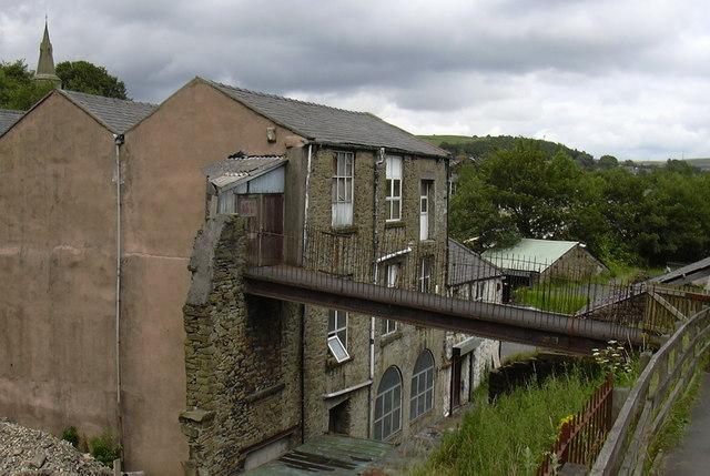 Derelict Mill, Blackwood.