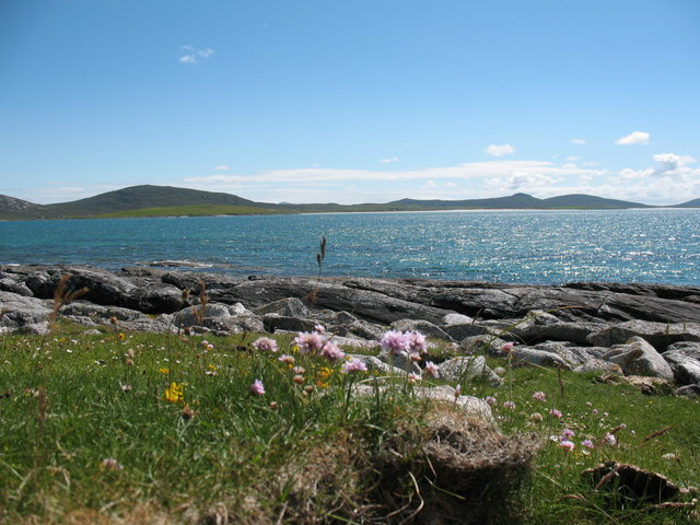 Berneray south side.