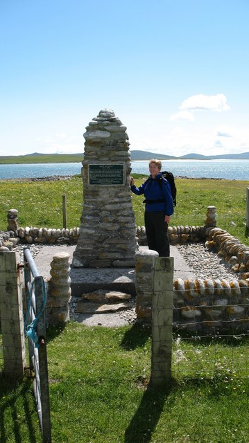 The 'Giant MacAskill' memorial.