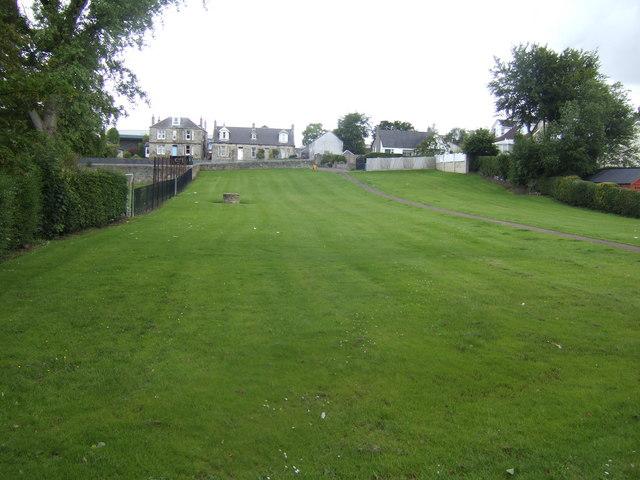 Green space in Carluke