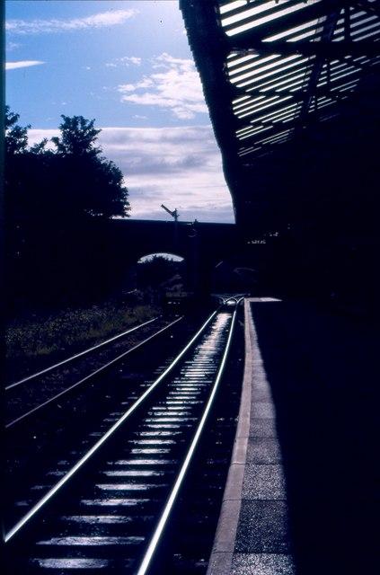 Platform at Poulton