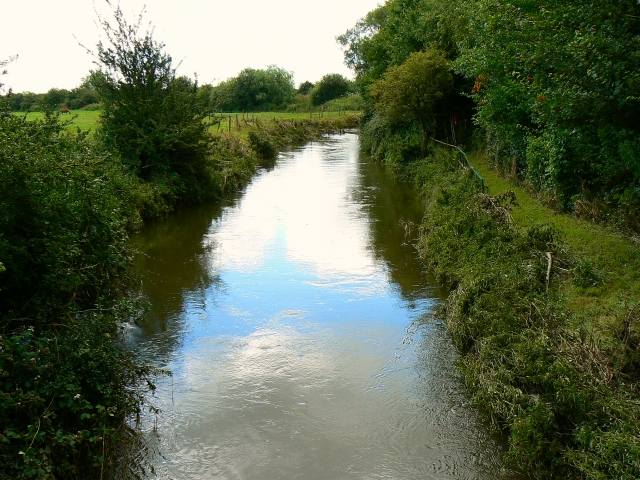 River Ray near Blunsdon railway centre