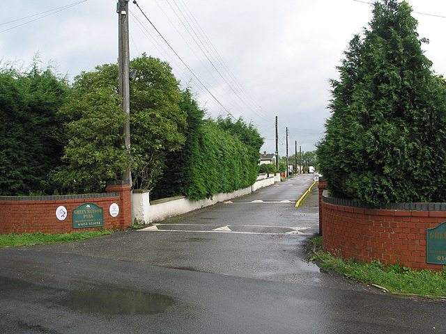 Entrance to Green Meadow Park Homes
