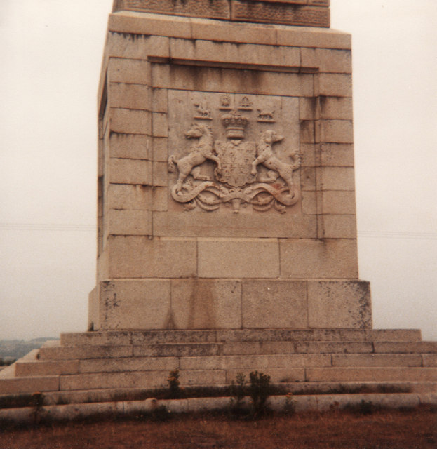 Monument on Culver Cliff