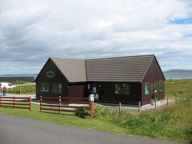 Village shop and tea room, Berneray