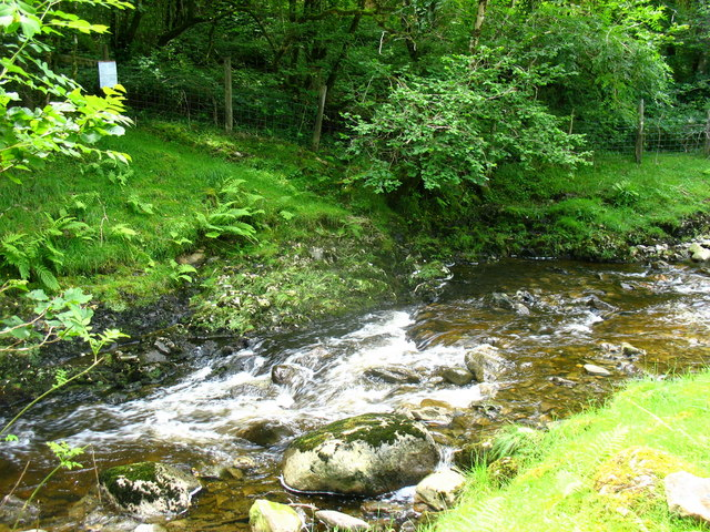 The Eiddon ford on the Benglog path