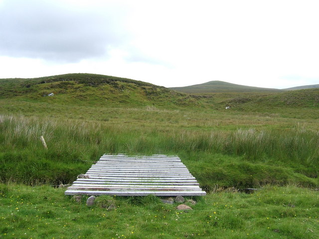 Footbridge over An Crom-allt