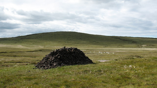 Peat Stack on the Moor