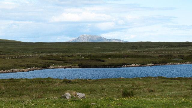 moorland and Lochan, North Uist