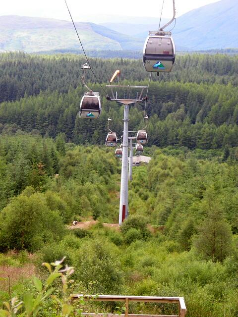 Nevis Range Gondolas