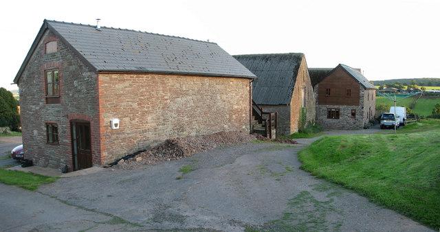 Converted barns at Hygga