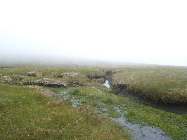 Bogland near Meall an Fhuarain