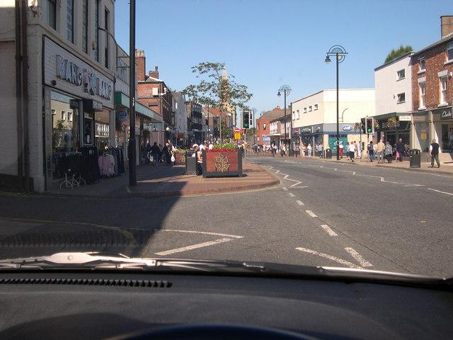 Market Street in the sunshine
