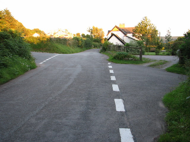 Road Junction at Parkhouse