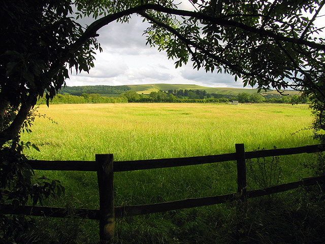 Farmland near Woolstone
