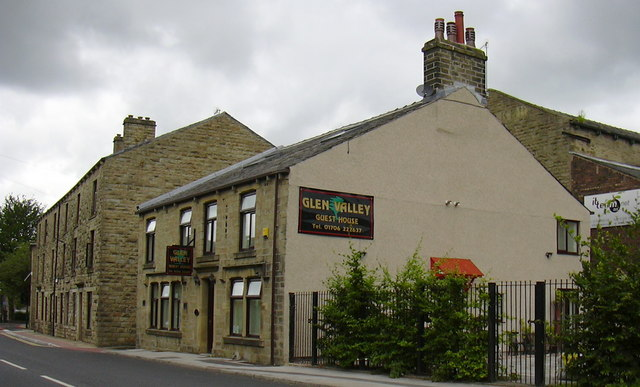 """""""Glen Valley Guest House"""" 634 Bacup Road, Waterfoot, Rossendale, BB4 7AW"""