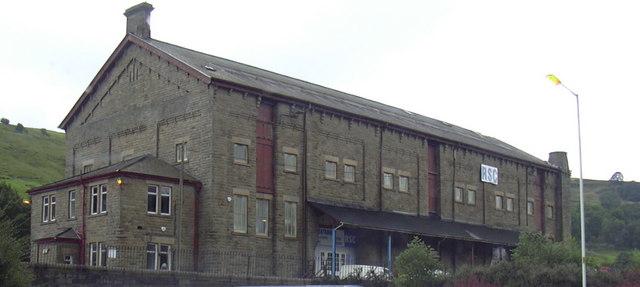 Old Railway Buildings, Waterfoot.